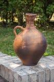 Vaso di terra tradizionale Fotografie Stock