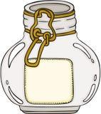 Vaso di vetro rotondo royalty illustrazione gratis
