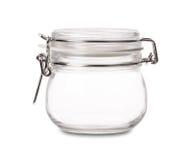 Vaso di vetro vuoto immagine stock libera da diritti