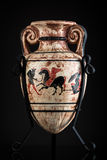 Vaso do grego clássico fotos de stock