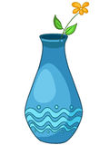 Vaso domestico del fumetto Fotografie Stock Libere da Diritti