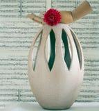 Vaso dourado fotografia de stock royalty free