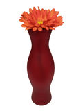 Vaso e fiore Immagini Stock Libere da Diritti