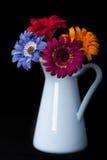 Vaso e fiori Fotografie Stock Libere da Diritti