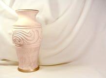 Vaso e tela Imagem de Stock Royalty Free