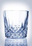 Vaso fresco del vidrio cristalino Fotos de archivo libres de regalías