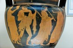 Vaso grego Imagem de Stock