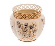 Vaso hand-painted húngaro bonito Imagem de Stock Royalty Free
