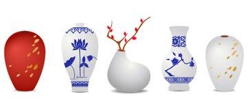 Vaso orientale Fotografia Stock