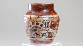 Vaso pre colombiano archivi video