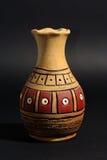Vaso turco dell'argilla. Immagine Stock