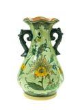 Vaso verde Fotografie Stock