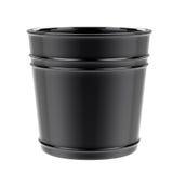 Vaso vuoto isolato su bianco Fotografia Stock Libera da Diritti
