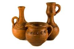 Vasos da argila Foto de Stock Royalty Free