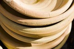 Vasos da argila das flores Imagens de Stock