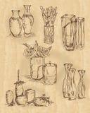 Vasos de flores dos vasos fotos de stock royalty free