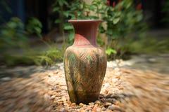 Vasos decorativos da argila Fotos de Stock
