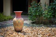 Vasos decorativos da argila Fotos de Stock Royalty Free