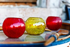 Vasos dos vidros Foto de Stock