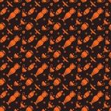 Vasos gregos, preto e laranja Foto de Stock