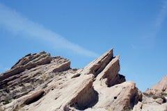 Vasquez oscilla nel deserto di California fotografia stock