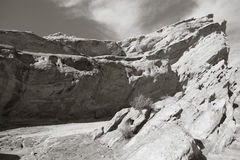 Vasquez Rock in California Stock Photo