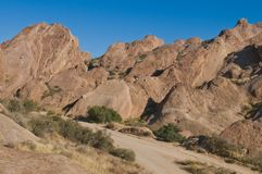 Vasquez Rocks Stock Photo