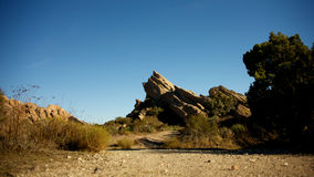 Vasquez Rocks Royalty Free Stock Photos