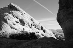 Vasquez Rocks Lines Stock Image