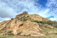 Vasquez Rocks Natural Area Park After the Rain Royalty Free Stock Photography