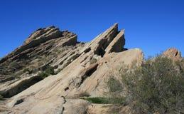 Vasquez Rocks Panorama 3 Royalty Free Stock Photos