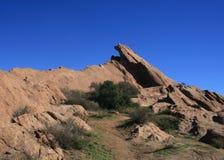 Vasquez Rocks Panorama Royalty Free Stock Images