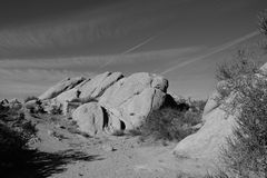 Vasquez Rocks Parallels Stock Photography