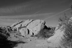 Vasquez Rocks Parallels Stock Photography