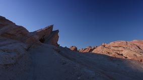 Vasquez Rocks Sunset. Motion control time lapse of sunset on Vasquez Rocks stock video footage
