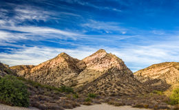 Vasquez Rocks at Sunset Royalty Free Stock Images