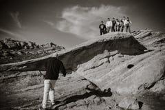 Vasquez skała w Kalifornia Zdjęcie Stock