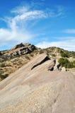 Vasquez vaggar naturligt område, kanjonland Royaltyfri Foto