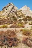 Vasquez vaggar naturligt område, kanjonland Arkivbild