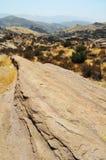 Vasquez vaggar naturligt område, kanjonland Arkivbilder