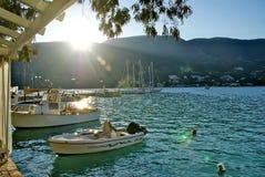 Vassiliki Grekland Arkivfoton