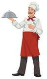 Vassoio del cuoco unico chiuso Fotografia Stock
