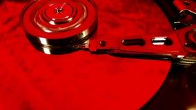 Vassoio del disco rigido colorized video d archivio