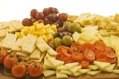 Vassoio del formaggio Fotografia Stock
