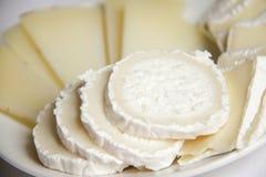 Vassoio del formaggio Fotografie Stock Libere da Diritti