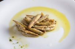 Vassoio del formaggio, varietà di formaggi di Piemonte Italia, salsa verde immagine stock libera da diritti