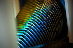 Vassoio del wafer Fotografie Stock Libere da Diritti
