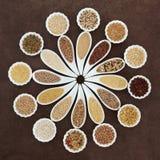 Vassoio dell'alimento di grano Immagini Stock