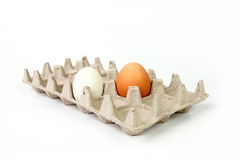 Vassoio dell'uovo Fotografie Stock