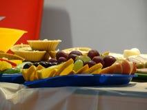 Vassoio della frutta Immagini Stock